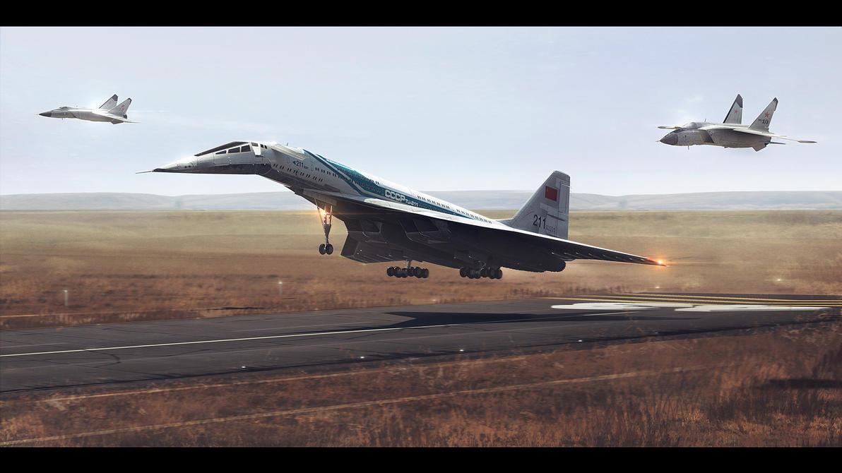 Tu-211 by MacRebisz
