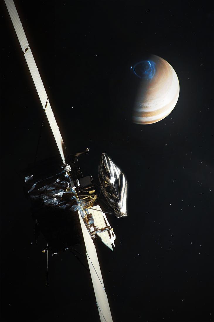 Juno - Jupiter Approach by MacRebisz