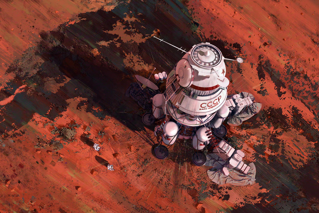 Ambition 1 Lander by MacRebisz