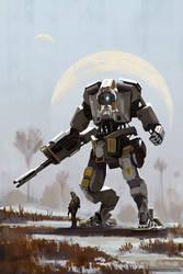 Titan and Pilot by MacRebisz
