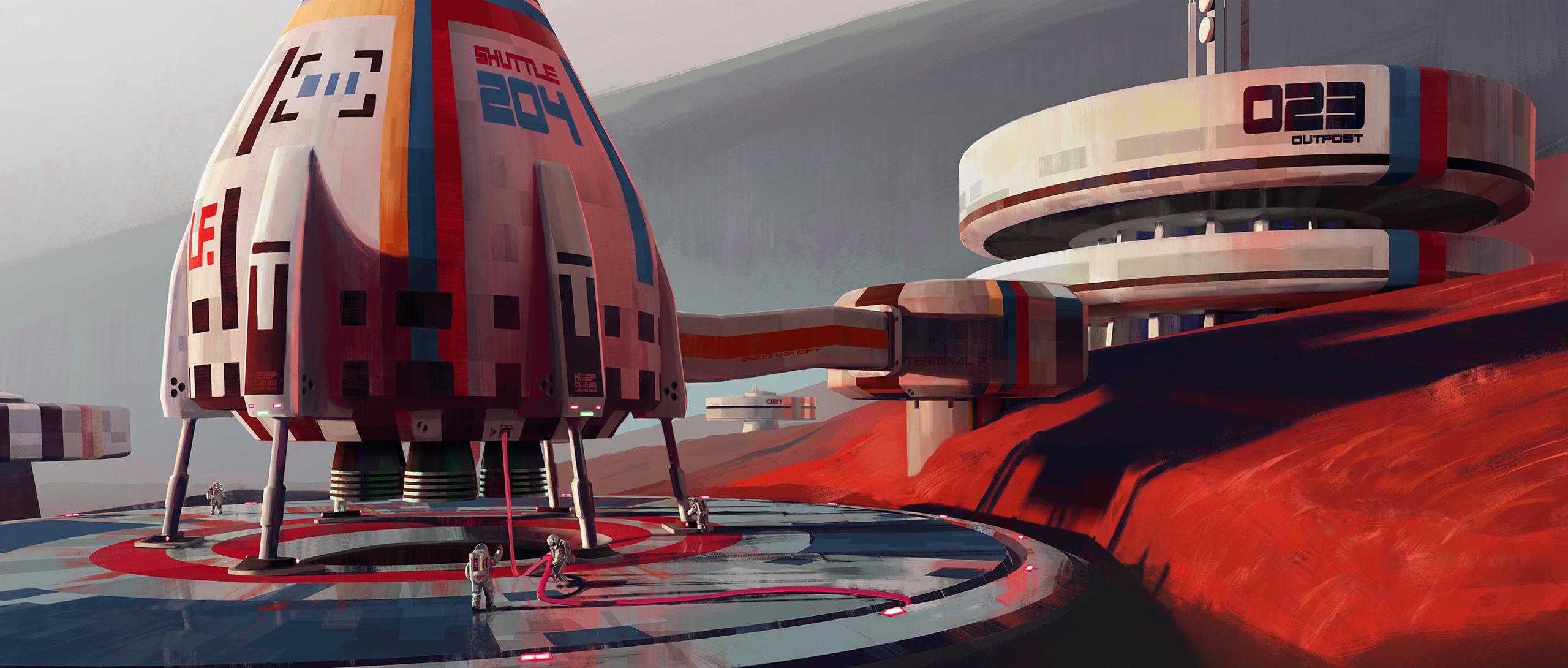 Shuttle 204 by MacRebisz