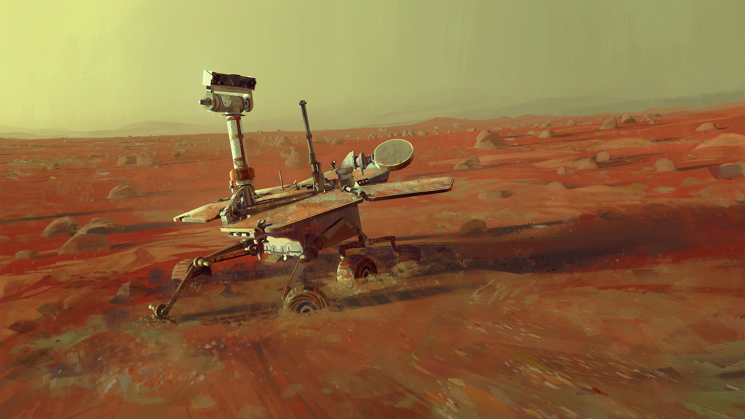 Mars Exploration Rover A - Spirit by MacRebisz