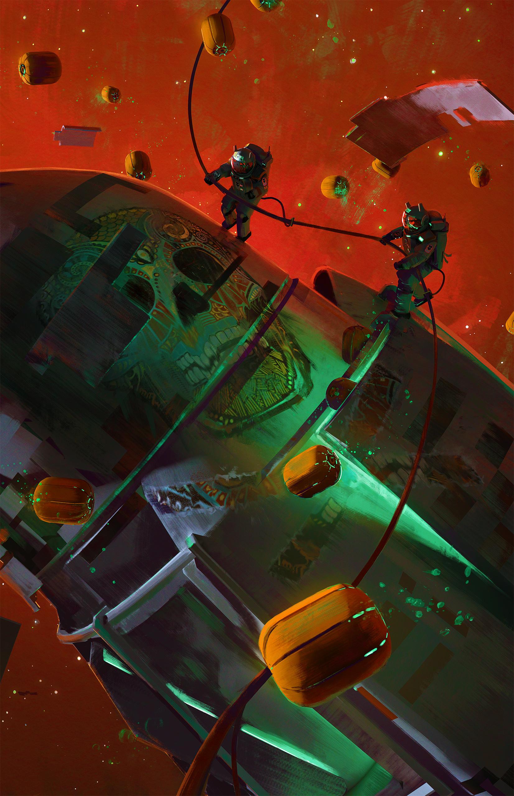 Pumpkin Space by MacRebisz