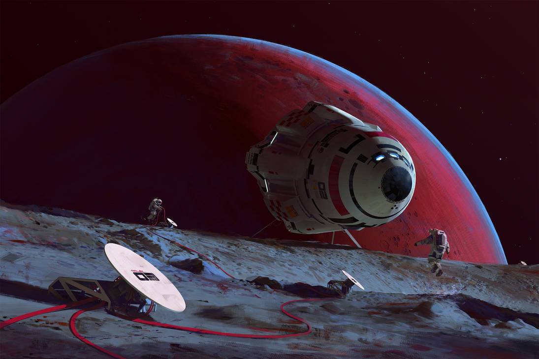Phobos Relay by MacRebisz
