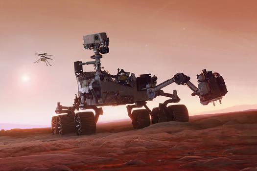 Mars 2020 Perseverance
