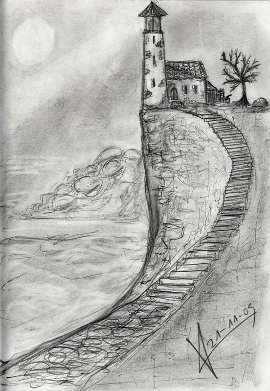 Sketchbook_Lighthouse by MacRebisz