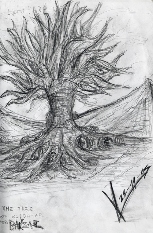 Sketchbook_Tree of Kuldahar1 by MacRebisz