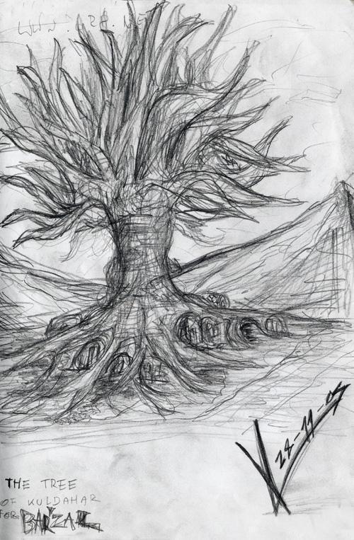 Sketchbook_Tree of Kuldahar1 by MacRebisz