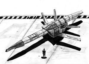 space ship 01 by MacRebisz