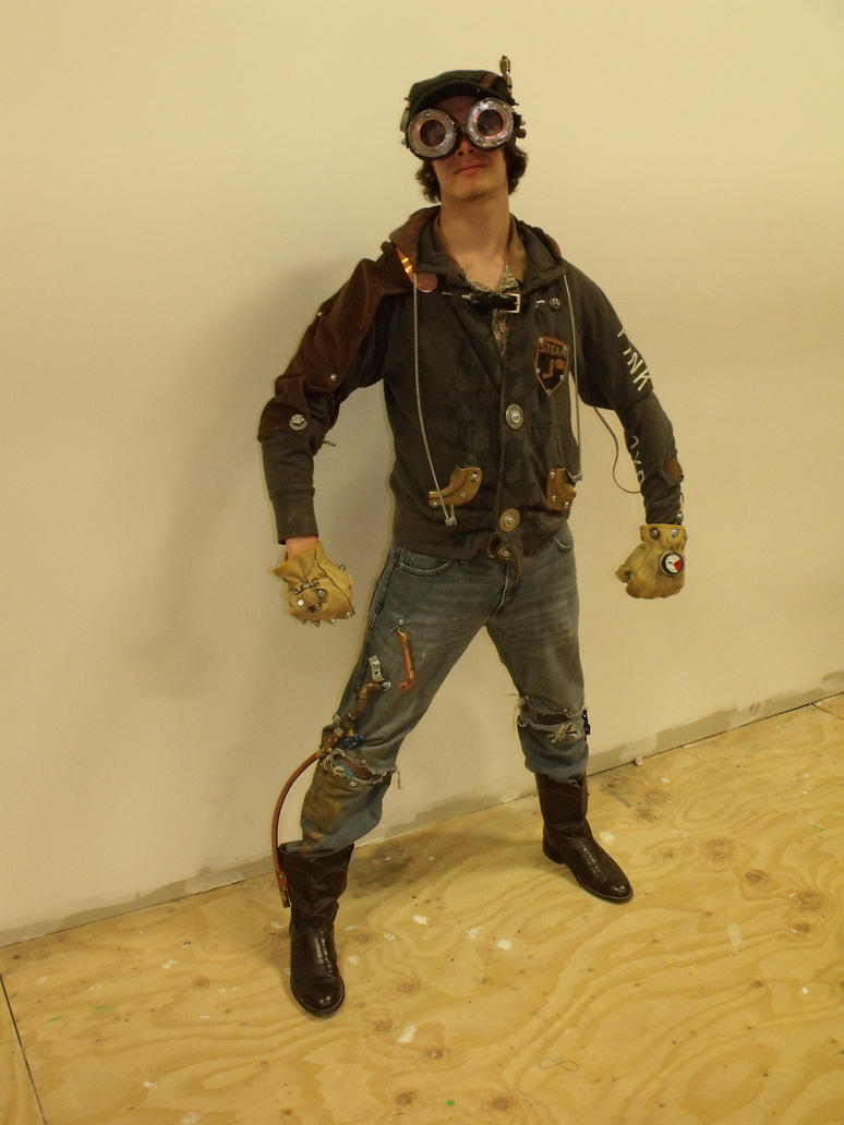 how to make a wastelander costume