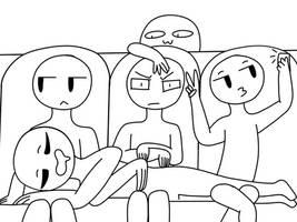 car ride draw yo squad