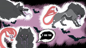 Wolf of Halloween (SOLD) by Lidelman