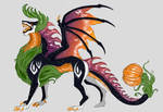 Halloween dragon [CLOSED] by Lidelman