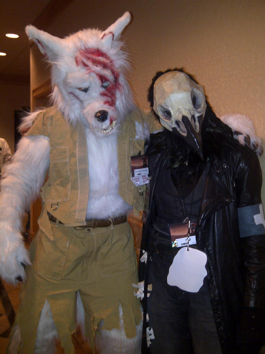 Wolfendale and Undead Raven (RMFC) by TwistedTerrace