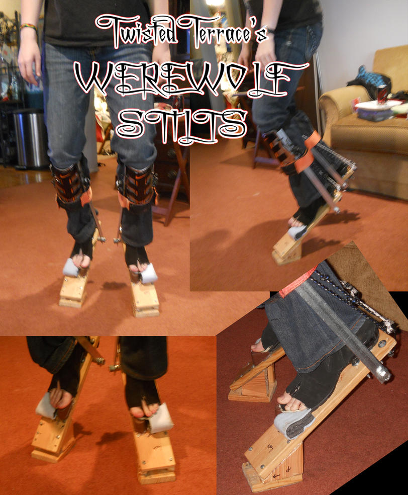 Werewolf Stilts (No Padding Or Shaping) By TwistedTerrace ...
