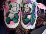 both gloomy bear shoes