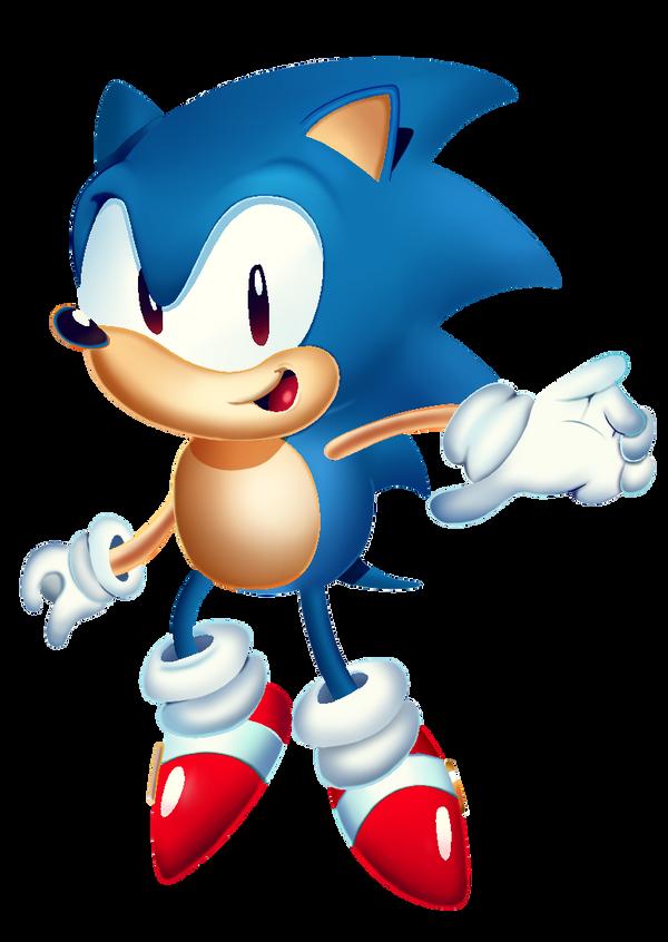 Sonic Mania render by JayJayTheHumam