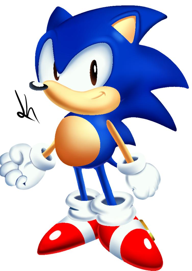 Unused Sonic CD Render by JayJayTheHumam