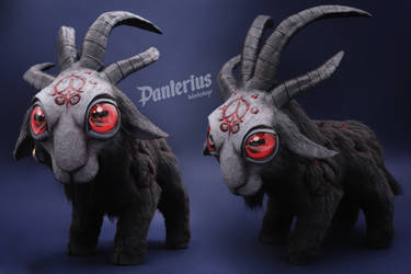 Baa'l Handmade toy (World of Warcraft) by panteriusworkshop