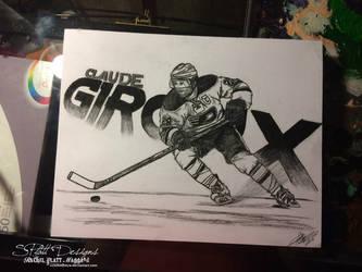 Claude Giroux 2 - Fan Art by WrathOfFreya