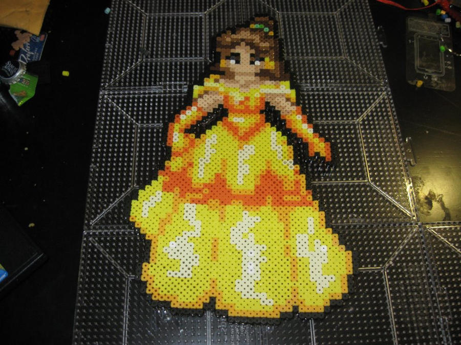 Perler Disney Princess Belle Beauty And The Beast By