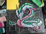 Spirited away dragon Perler