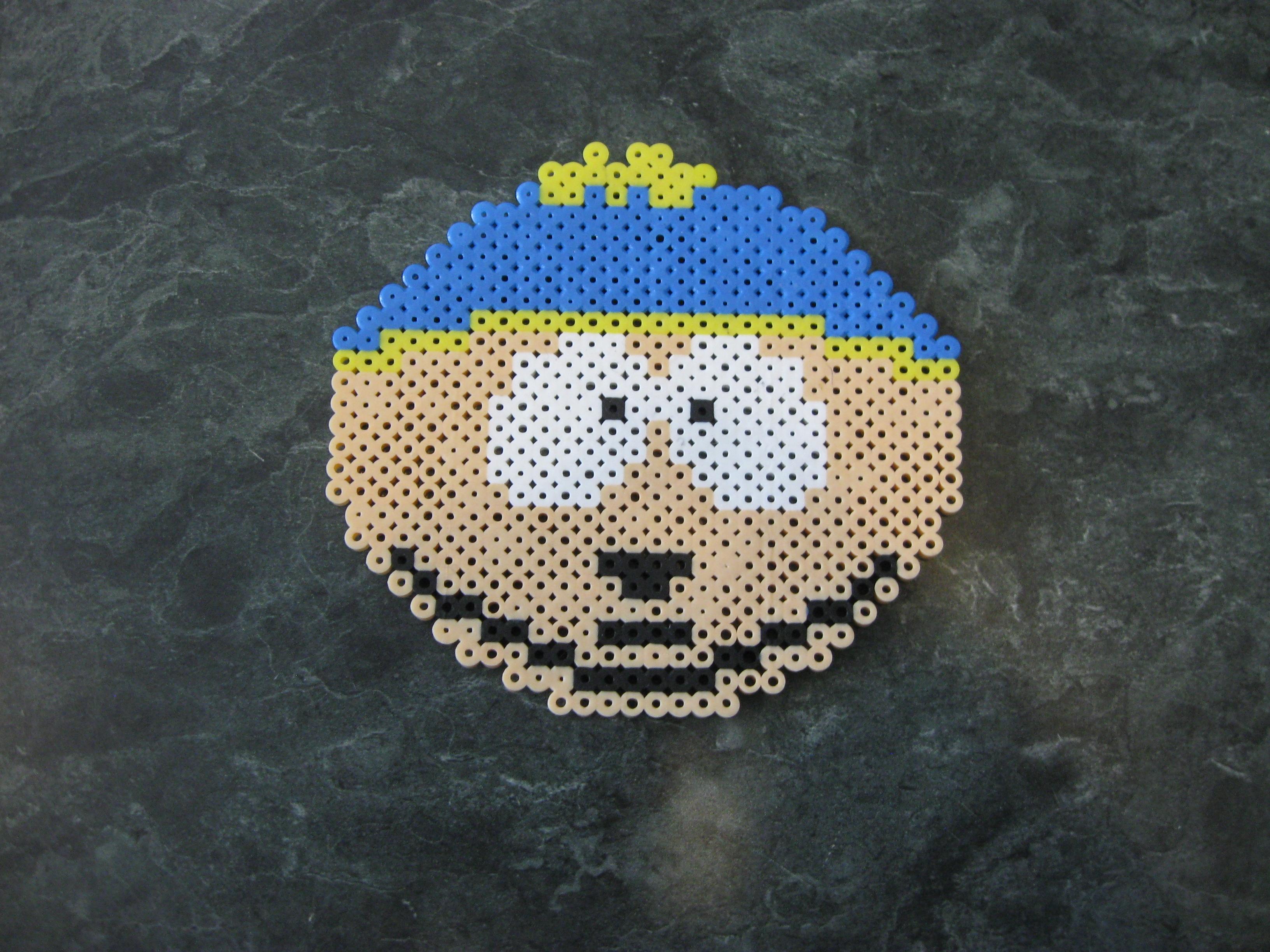 Perler Cartman Face By Rushtalion On Deviantart
