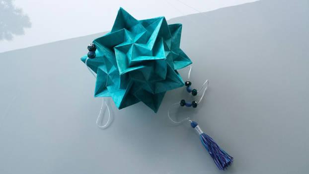 Origami ❉ Aelita ❉ Kusudama | Modulares origami, Origami design | 350x622