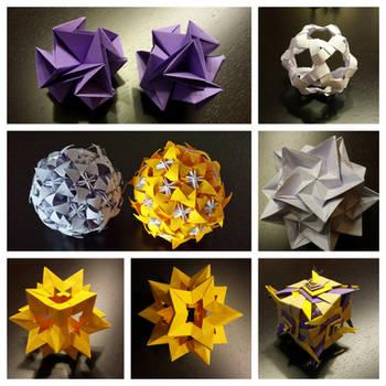Origami Kusudama Flower Tutorial | Origami Made Simple | 350x350