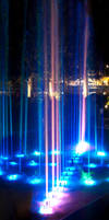 Laser Fountain Multicolor