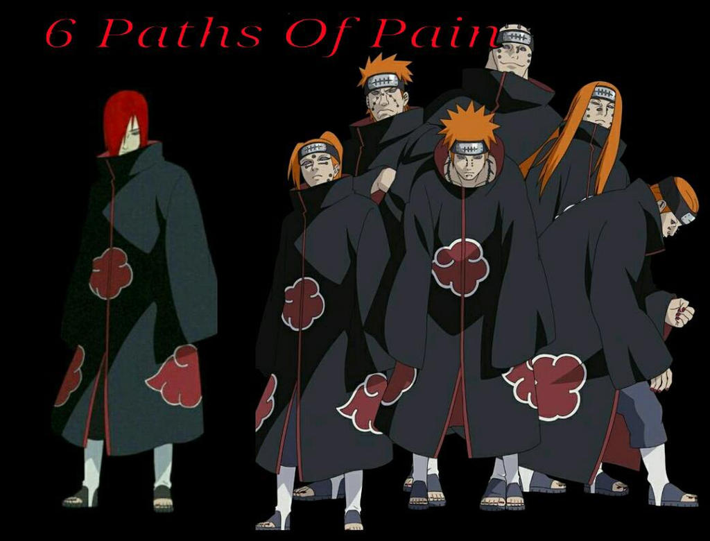 Nagato With Six Paths Of Pain by NagatoUzumakix on DeviantArt