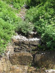Slate Waterfall 5 by omega21