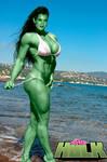She-Hulk - In Beach
