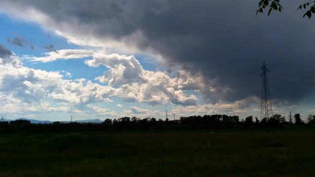 dark clouds approach #1
