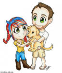 Jill, Mike and Sookie