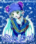 lue snow colored
