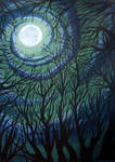 Moonlit Thicket
