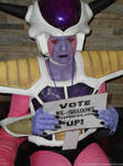 Frieza's Vote by solusauroraborealis
