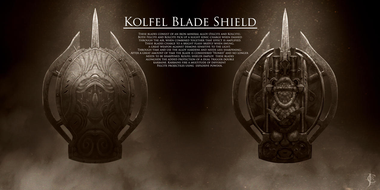Kolfel Blade Shield by JRCoffronIII