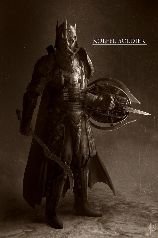 Kolfel Soldier by JRCoffronIII