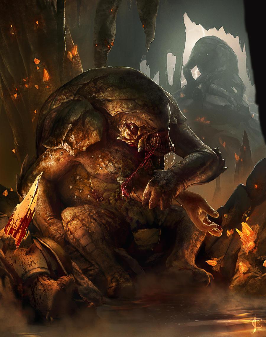 Roller Demon by JRCoffronIII