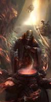 Dark Conjurer by JRCoffronIII