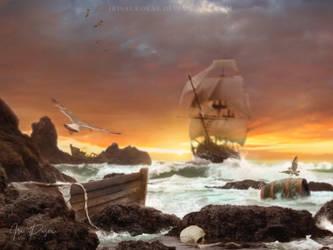 Uncharted Territory by IrisAurorae