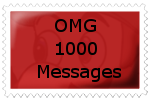 OMG 1000 MESSAGES by SonictheYoshi