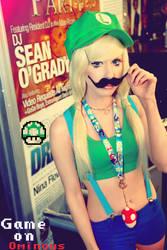 Sexy Luigi Cosplay by the-little-skylark