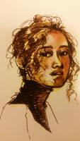 Portrait color study