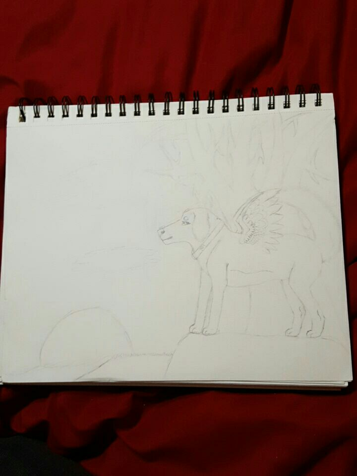Advanced art wip. by wolflover1020