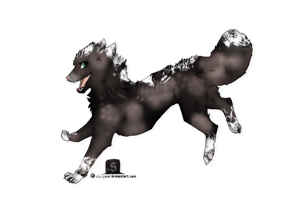 Adoptable closed by wolflover1020