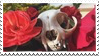 cat skull stamp by Nine-Inch-Kales