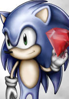 Sonic by PigSaint